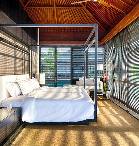 Sohamsa Estate - Villa Hamsa - Sundrenched master bedroom